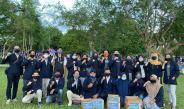 Mahasiswa Politeknik Negeri Balikpapan Lakukan aksi Galang Dana Korban Banjir Sukabumi.