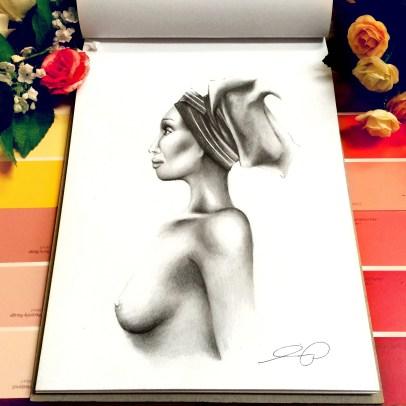 Life drawing study