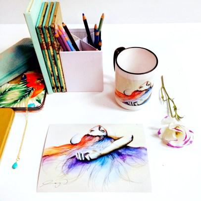 Water colour work/mug