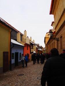 プラハ城の街