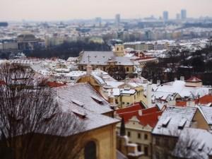 プラハの街並み3