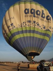 ほぼ飛べる熱気球