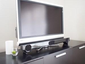 テレビのスピーカー