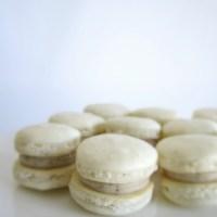 Vanilla Latte Macarons