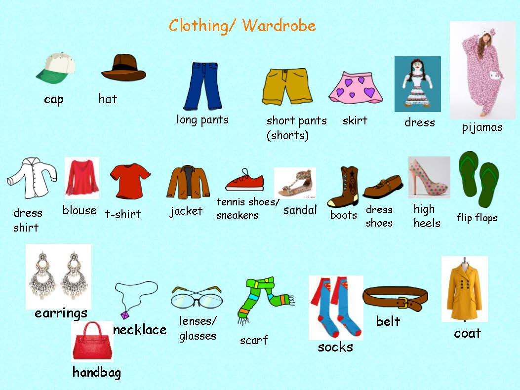 Esl Spanish Activity Teaching Clothing Land Of