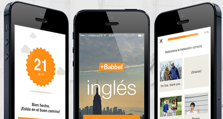 babbel application mobile