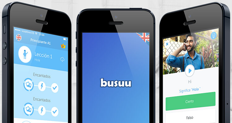 busuu for mobile phone