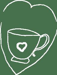قلب قهوة