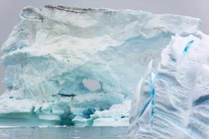 My favorite iceberg of the trip - massive and intricate
