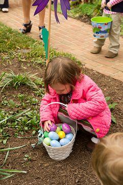 Пасхальные традиции Великобритании - охота на яйца