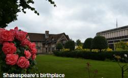 Про Шекспира на английском - Дом, где родился Шекспир