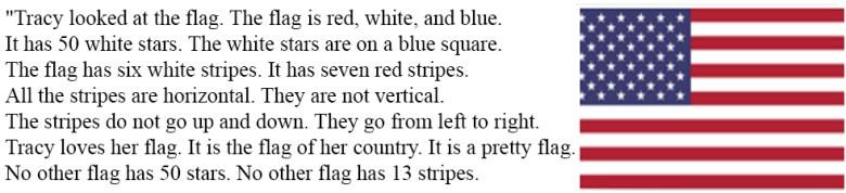 Читать и слушать на английском - The Flag
