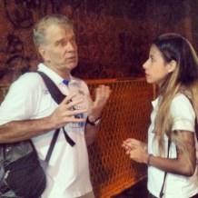 Bernardinho lamenta a não participação público no jogo - Foto: Mayara Viegas