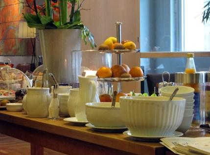 Frühstücksbuffet Villa Orange