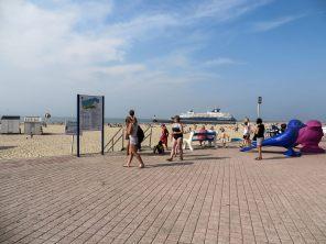 Strand von Calais.