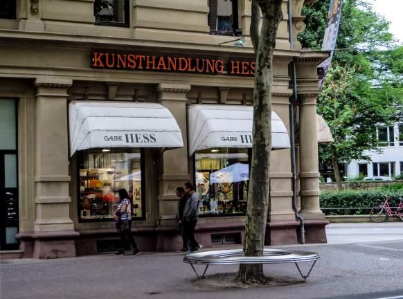 Treffpunkt Kunsthandlung Hess