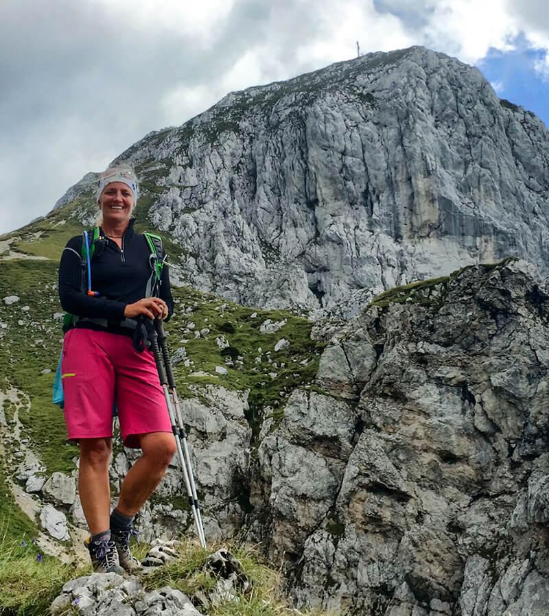 Bergwanderführerin Anke Zormeier