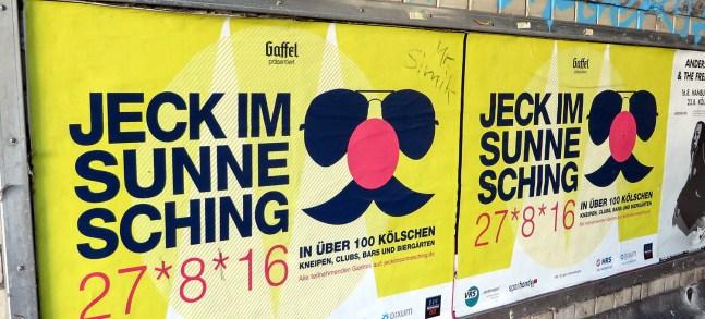 Die Jecken in Köln feiern auch im Sommer Karneval.