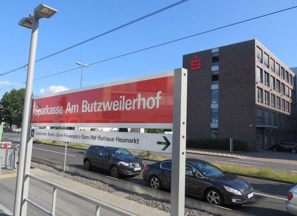 Endstation Linie 5, Köln.