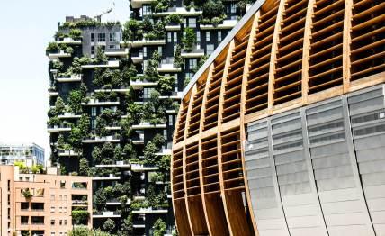 Neues Stadtquartier Porta Nuova.