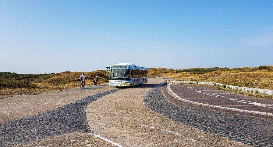 Inselbus Linie 5 auf Norderney.