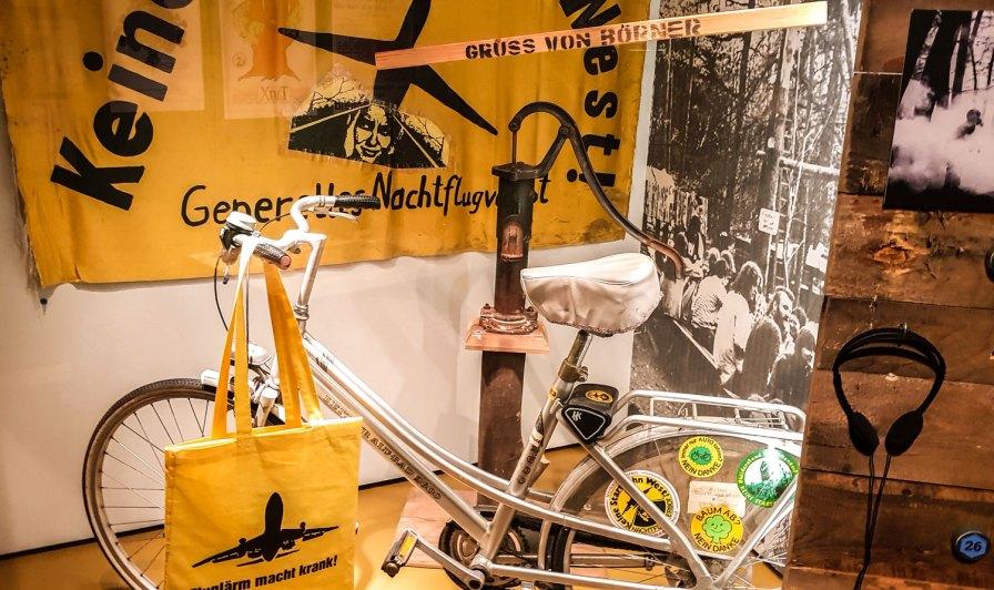 Lebendige Stadtgeschichte - Proteste um den Bau der Startbahn West Ende der 80er-Jahre.