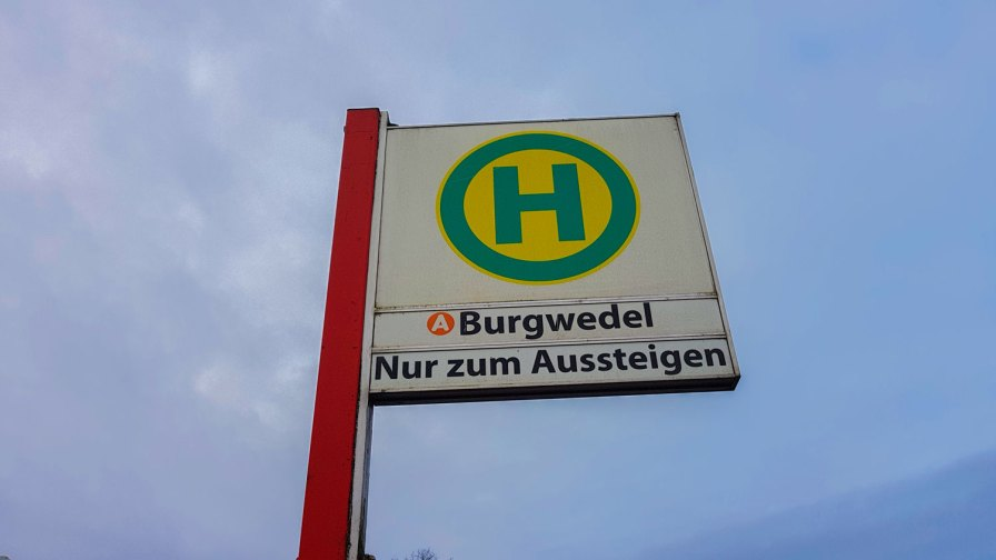 Endhaltestelle Burgwedel