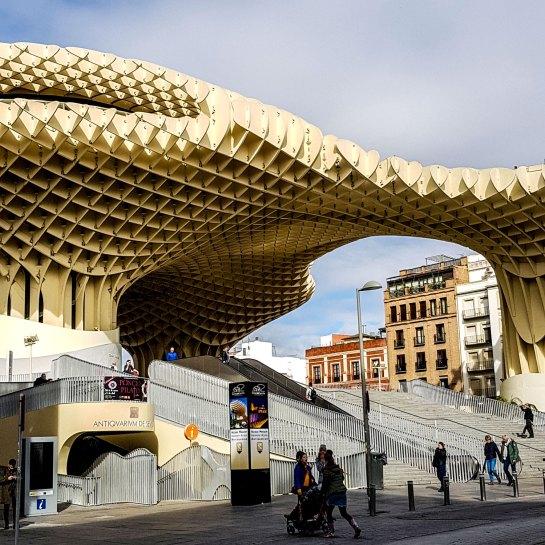 Metropol Parasol, Sevilla.