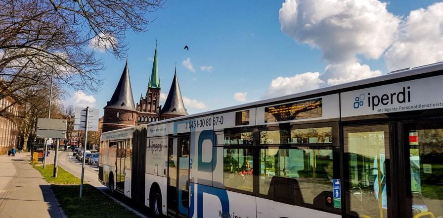 Buslinie 5 in Lübeck