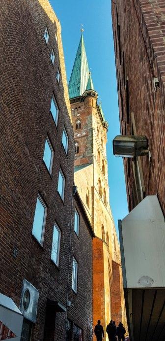 Aussichtsturm in der Lübecker Altstadt