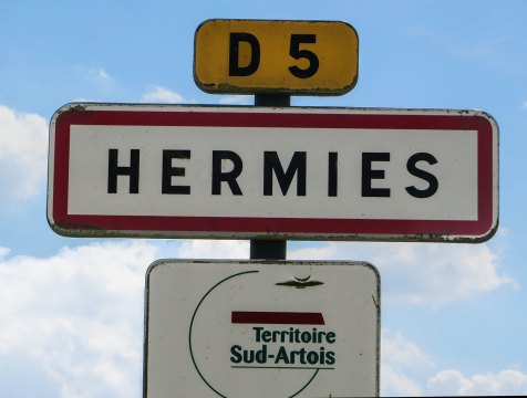 Hermies im Département Pas-de-Calais.