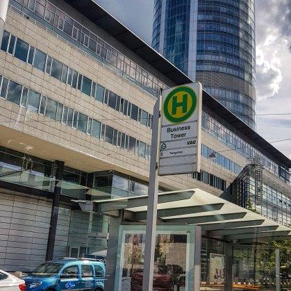 Haltestelle Businesstower Nürnberg
