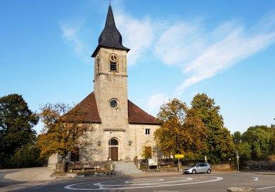 Kirche in Kirchenkirnberg, Murrhardt