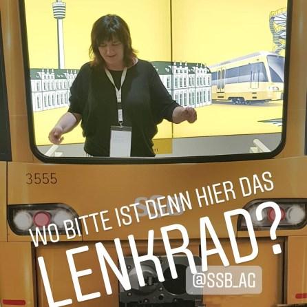 Wie geht Straßenbahnfahren?