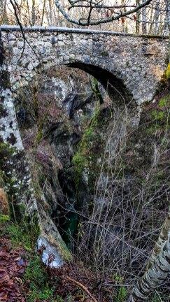 Teufelsbrücke Slowenien