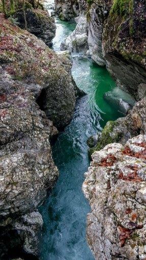 Wanderweg in Slowenien