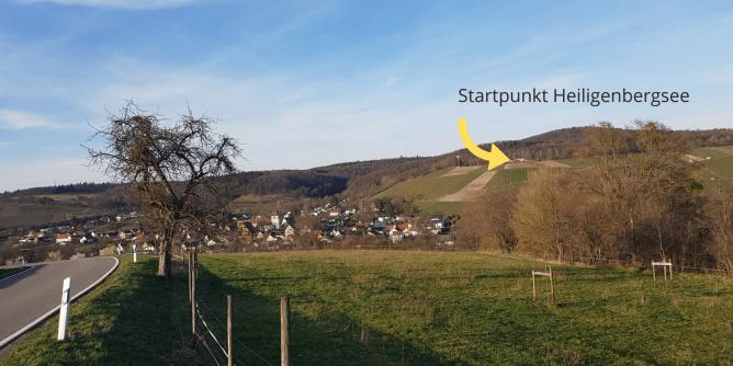 Startpunkt Heiligenbergsee (1)