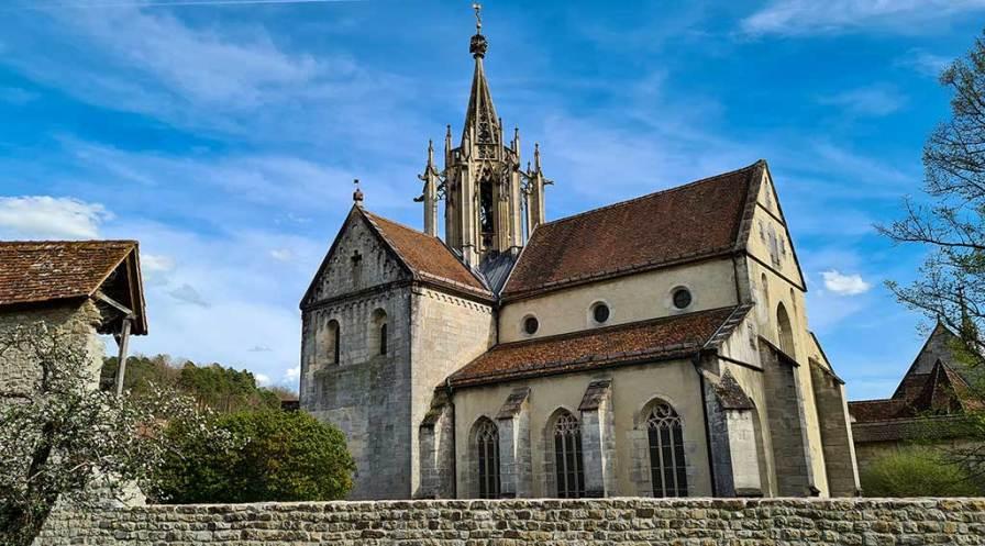 HW 5 Bebenhausen - die Abteikirche