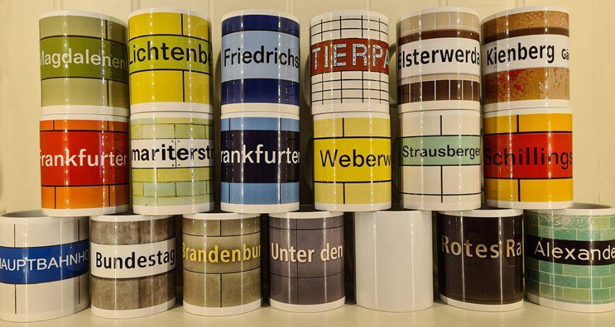 Berlin U5 - im Tassenformat