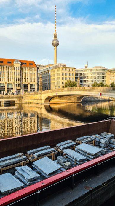 Berlin U5 Museumsisel