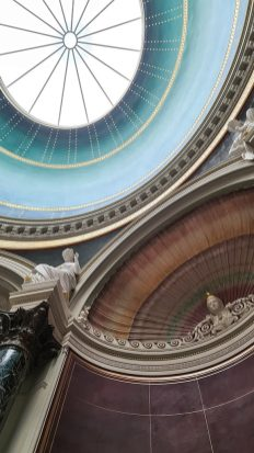 Deckengewölbe in der Alten Nationalgalerie. Alte Nationalgalerie Museumsinsel