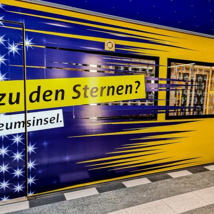 Eröffnung des U-Bahnhofs Museumsinsel