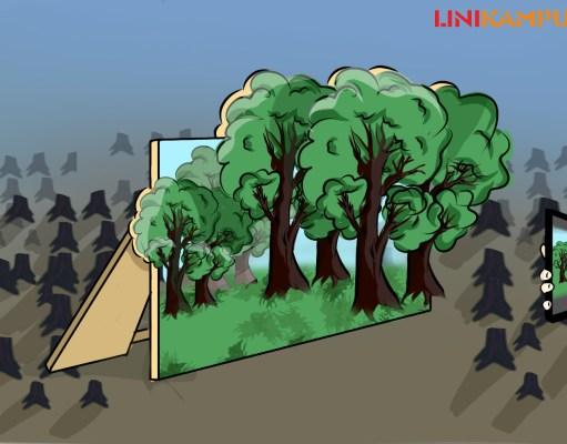 ilustrasi 11 tahun konservasi