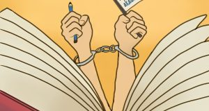 Ilustrasi Menilik Kebebasan Akademik dari Kacamata Hukum (BP2M/Suci)