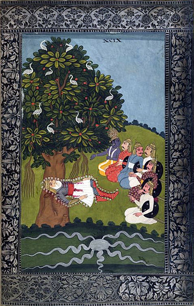 death of bhisma