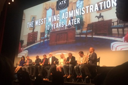 Reuni serial The West Wing di ATX Festival 2016. (Thank you, Google Image!)