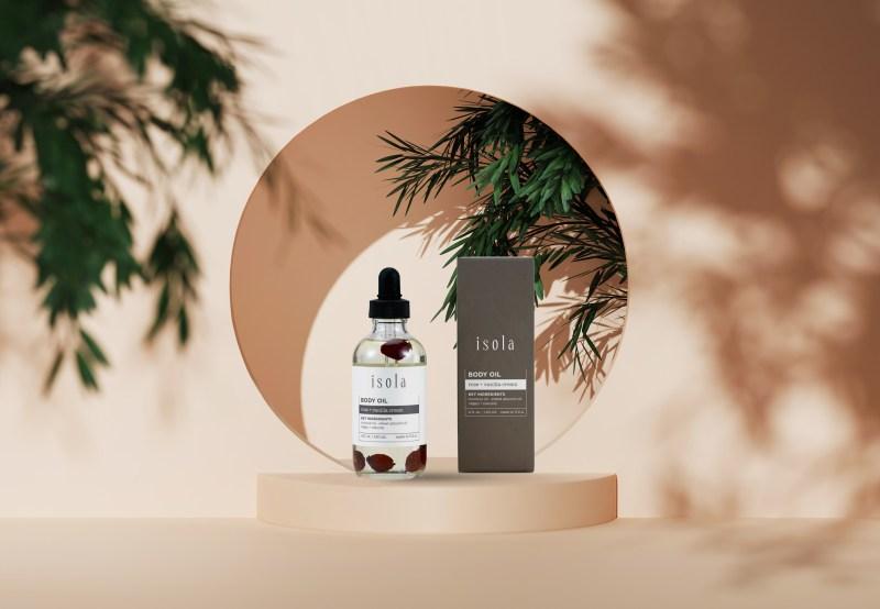 Rose and Vanilla Cream Body Oil