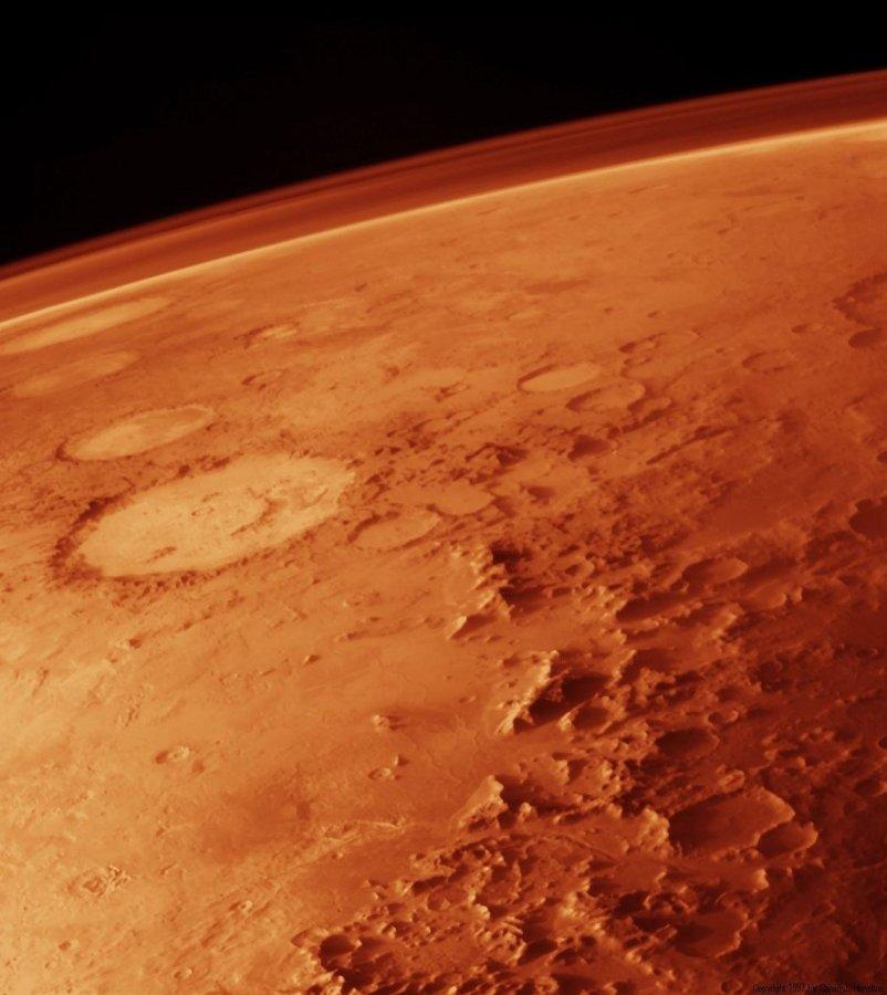 mars, planet, atmosphere