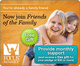 You're already a family friend--Now join Friends of the Family.