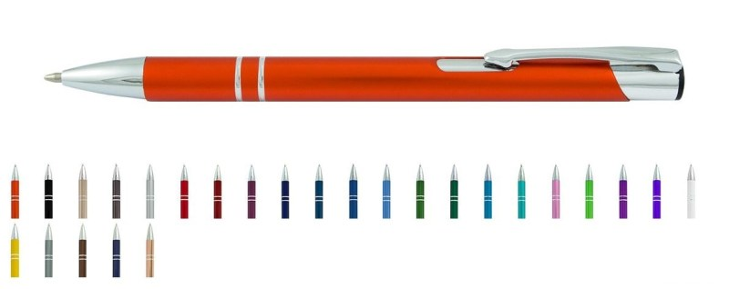 eleganckie długopisy z nadrukiem